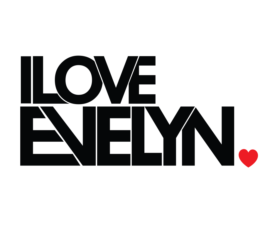 I Love Evelyn Logo