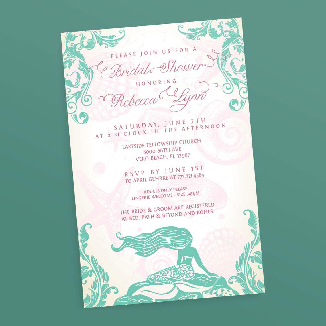58 mermaid themed bridal shower themed mermaid shower bridal